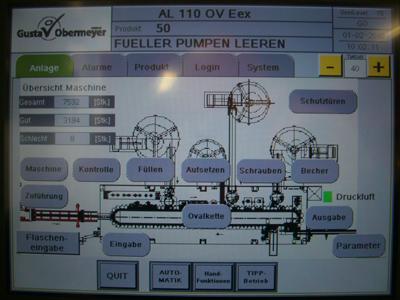 AL 110 Ovalfüllmaschine Datenblatt Übersicht