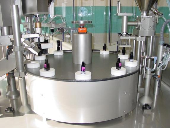 Füllmaschine für Kosmetikprodukte