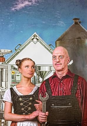 Obermeyer Gothic Gemälde