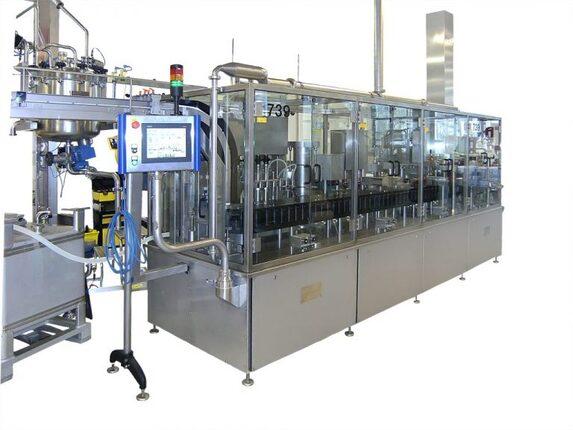 Flaschenfüller Pharmaindustrie Abfüllanlagen