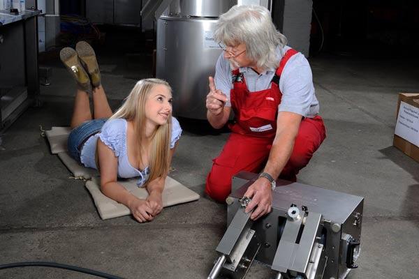 Einarbeitung Erklärung der Füllmaschinen