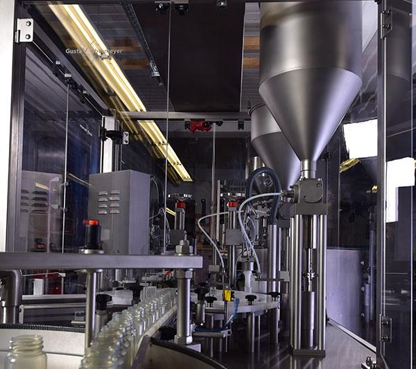 Abfüllanlage Chemieindustrie